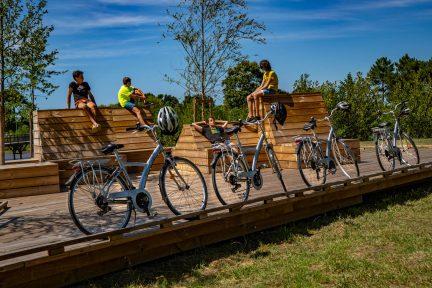 balade à vélo bassin d'arcachon